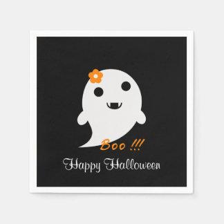 Niedlicher Halloween-Geist Papierserviette