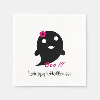 Niedlicher Halloween-Geist Papierservietten