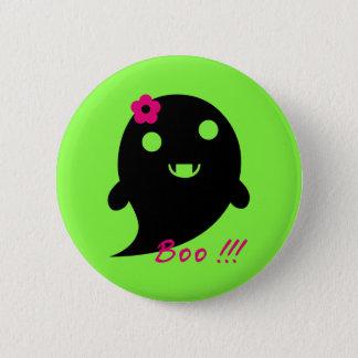 Niedlicher Halloween-Geist Runder Button 5,1 Cm