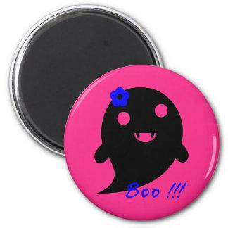 Niedlicher Halloween-Geist Runder Magnet 5,1 Cm