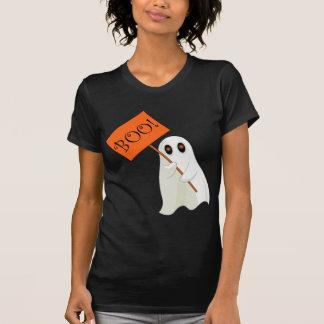 Niedlicher Halloween-Geist-T - Shirt BOO