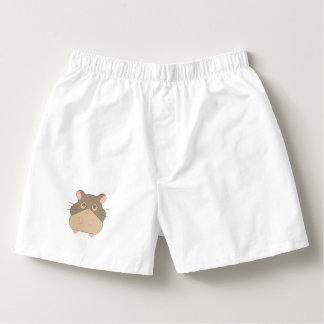 Niedlicher Hamster Herren-Boxershorts