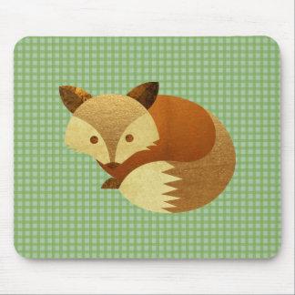 Niedlicher HerbstFox Mousepad
