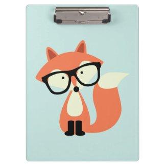 Niedlicher Hipsterroter Fox