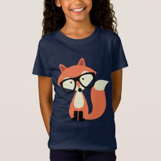 Niedlicher Hipsterroter Fox T-Shirt