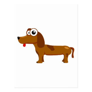 Niedlicher Hund Postkarte