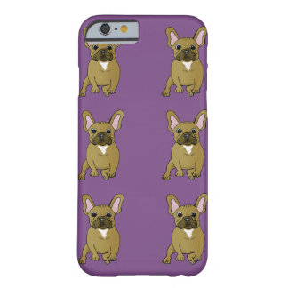 Niedlicher Hundefranzösische Bulldogge Iphone Fall Barely There iPhone 6 Hülle