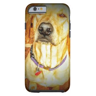 Niedlicher Hundeniedlicher Welpe Tough iPhone 6 Hülle