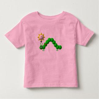 Niedlicher Inchworm mit einer Idee! Kleinkind T-shirt