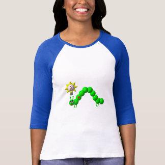 Niedlicher Inchworm mit einer Idee! T-Shirt