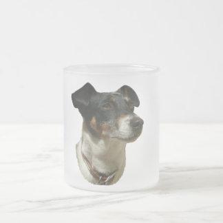 Niedlicher Jack-Russell-Hund Mattglastasse