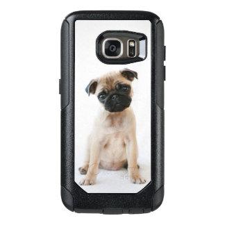 Niedlicher junger Mops-Hund OtterBox Samsung Galaxy S7 Hülle