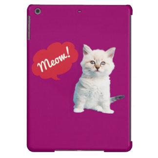 Niedlicher Kätzchen Ipad Fall iPad Air Hülle