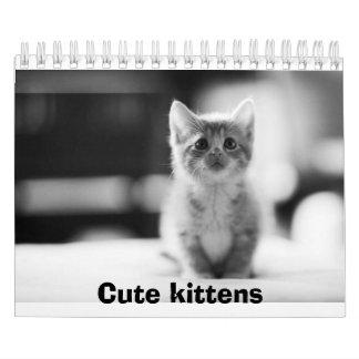 Niedlicher Kätzchen Kalender
