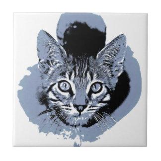 Niedlicher Kitty Keramikfliese