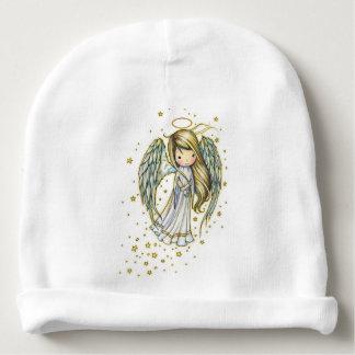 Niedlicher kleiner Engel in den Sternen Babymütze