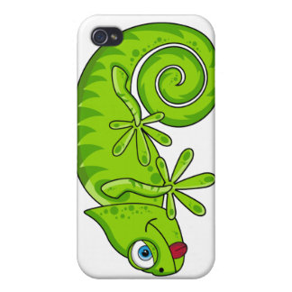 Niedlicher kleiner Gecko iphone 4 Fall Etui Fürs iPhone 4