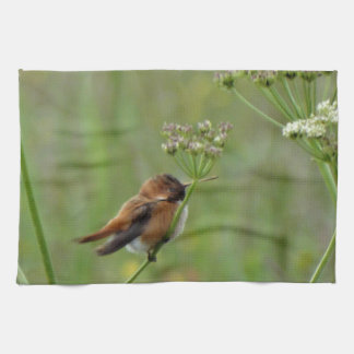 Niedlicher kleiner Kolibri Küchentuch