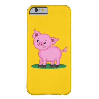 Niedlicher kleiner Schwein iPhone 6 Fall Barely There iPhone 6 Hülle