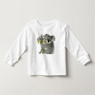 Niedlicher Koala-Schlaf Kleinkind T-shirt