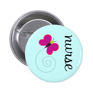 Niedlicher Krankenschwester-Magnet Runder Button 5,7 Cm