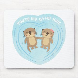 Niedlicher Liebe-Wortspiel-Spaß sind Sie mein Mousepad