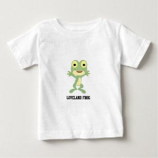 Niedlicher Loveland Frosch Baby T-shirt