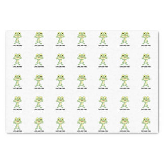 Niedlicher Loveland Frosch Seidenpapier