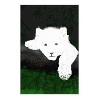 niedlicher Löwe Briefpapier