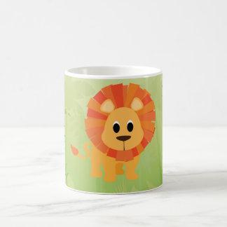 Niedlicher Löwe Kaffeetasse