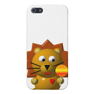 Niedlicher Löwe mit Lutscher! iPhone 5 Hüllen