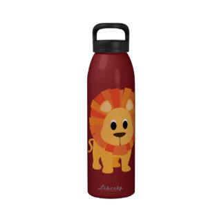 Niedlicher Löwe Wasserflasche