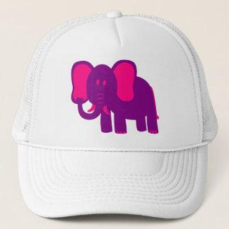 Niedlicher lustiger Elefant Truckerkappe