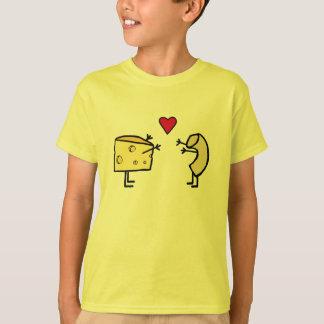 Niedlicher Mac- und Käse-Liebe-T - Shirt