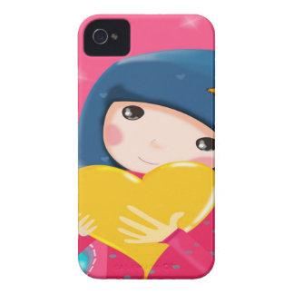 Niedlicher Mädchen-BlackBerry-Kasten iPhone 4 Hüllen