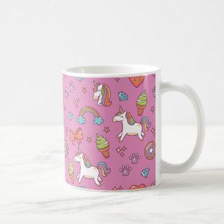 Niedlicher magischer Unicorn Kaffeetasse