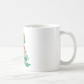 Niedlicher Maler-Bär Kaffeetasse