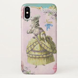 Niedlicher Marie Antoinette (mehr Wahlen) - iPhone X Hülle