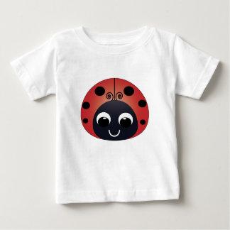 Niedlicher Marienkäfer-Baby-T - Shirt