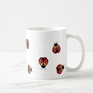 Niedlicher Marienkäfer Kaffeetasse