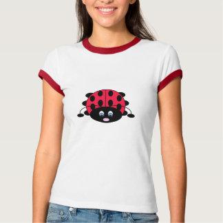 Niedlicher Marienkäfer-T - Shirt