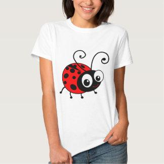 Niedlicher Marienkäfer T-Shirts