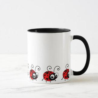 Niedlicher Marienkäfer Tasse