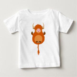 Niedlicher meditierender baby t-shirt