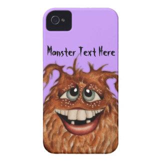 Niedlicher Monster-Gesichts-BlackBerry-Kasten iPhone 4 Cover