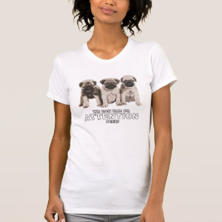 Niedlicher Mops kann Haz Aufmerksamkeits-T-Shirt T-Shirt