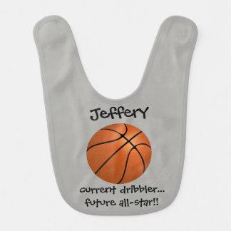 Niedlicher Name des Basketballs w, Lätzchen