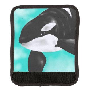 Niedlicher Orca-Wal Gepräckgriffwickel