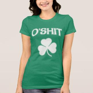 Niedlicher O'Shit irisches lustiges St Patrick T-Shirt
