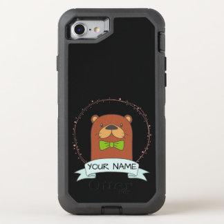 Niedlicher Otter-Cartoon OtterBox Defender iPhone 8/7 Hülle